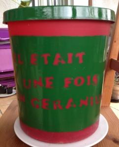Pot pour géranium